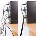 D-Line Gaine Pour Câble avec Outil Fileté|CZ202.5B| Organiser les Câbles | Longeur 2,5m, Diamètre 20mm, Noir de la marque D-Line image 1 produit