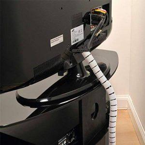 D-Line Gaine Pour Câble avec Outil Fileté|CZ252.5W | Organiser les Câbles | Longeur 2,5m, Diamètre 25mm, Blanc de la marque D-Line image 0 produit