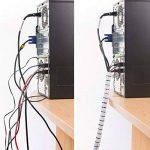 D-Line Gaine Pour Câble avec Outil Fileté|CZ252.5W | Organiser les Câbles | Longeur 2,5m, Diamètre 25mm, Blanc de la marque D-Line image 1 produit