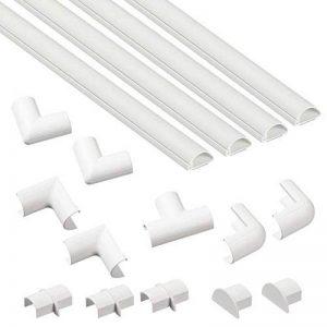 D-Line Kits de Goulottes | 2010KIT001 | Cachez et Protégez les Câbles Facilement | Goulotte Décorative | Blanc de la marque D-Line image 0 produit