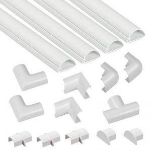 D-Line Kits de Goulottes   3015KIT001   Cachez et Protégez les Câbles Facilement   Goulotte Décorative   Blanc de la marque D-Line image 0 produit