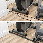 D-Line Passe Câble Sol D'usage Léger|CC-1/9M| Cachez et Protégez les Câbles et Évitez les Risques | 60mm x 12mm, longeur 9m, Noir de la marque D-Line image 1 produit