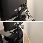 D-Line Tube de Rangement de Câble | CTT1.1W| Cache - Câble| Câbles Électriques, TV | 1.1m Longeur, 32mm Diamètre, Blanc de la marque D-Line image 1 produit