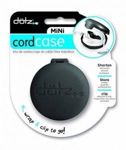 DOTZ MINI CORD CASE - Noir - Etui enrouleur pour câble 120 cm de la marque Dotz image 0 produit