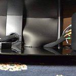 Eaxer Cable Management Sleeve [200cm Long] Velcro réglable en néoprène câble Tidy Organizer, 1 Piece de la marque EAXER image 4 produit