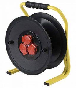 enrouleur câble électrique vide 50m TOP 1 image 0 produit
