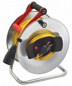 enrouleur câble électrique vide 50m TOP 8 image 0 produit