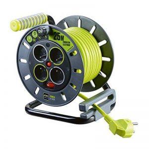 Enrouleur électrique 4 prises 25 mètres NF - câble H05VV-F 3G1.5 de la marque Nexus image 0 produit