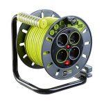 Enrouleur électrique 4 prises 25 mètres NF - câble H05VV-F 3G1.5 de la marque Nexus image 1 produit
