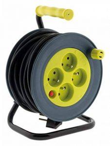 Enrouleur ménager 15m 3G1 mm² - Anis de la marque Zenitech image 0 produit
