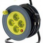Enrouleur ménager 15m 3G1 mm² - Anis de la marque Zenitech image 2 produit