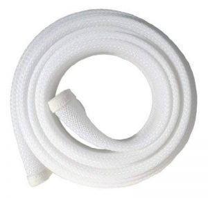 Fisual Gaine à fermeture Éclair pour câbles 2 m 2 Metres - White de la marque Fisual image 0 produit