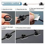 fixe câble autocollant TOP 6 image 3 produit