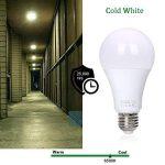 flintronic 2pcs Ampoule pour capteur radar, 13W LED (économie d'énergie et mise en marche/arrêt automatique) 6500k lampe d'éclairage blanc froid pour la nuit de la marque flintronic image 4 produit