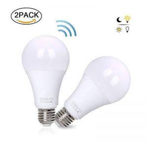 flintronic 2pcs Ampoule pour capteur radar, 13W LED (économie d'énergie et mise en marche/arrêt automatique) 6500k lampe d'éclairage blanc froid pour la nuit de la marque flintronic image 0 produit