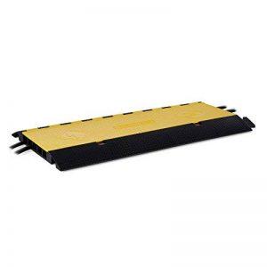 Frontstage CP-5CH - Passage de câbles passe câble de sol professionnel tunnel protège câble avec clapet (5 canaux, supporte 20 T de charge, Polyuréthane) de la marque Frontstage image 0 produit