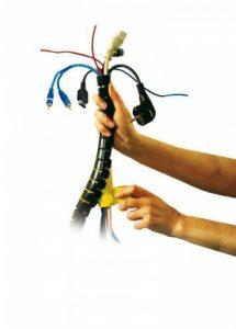 Gaine Flash - Gaine Range Câbles - Gaine Flash - Diamètre 20 mm - Longueur: 1,5 m - Couleur: Noir de la marque Gaine Flash image 0 produit