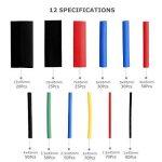 Gaine Thermorétractable 560 Pcs 12 Tailles Ratio 2:1, Eventronic Tube Thermorétractable 1-13mm Kit de la marque Eventronic image 1 produit