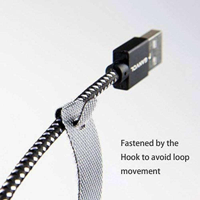 Lot de 30 clips range attache câble pour cordon fil usb jack...