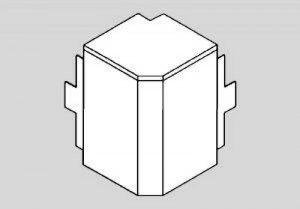 Ggk - Angle Extérieur pour Goulotte Electrique PVC 40x60 mm de la marque Ggk image 0 produit