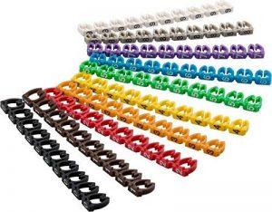 GOOBAY Câble Marqueurs de Clips 0–9pour diamètre, de Couleur Chiffres 0-9 6,0 mm coloré de la marque GOOBAY image 0 produit