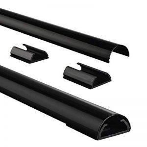 goulotte aluminium noir TOP 5 image 0 produit