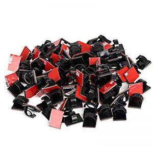 GWHOLE Lot de 100 Clips Adhésif de Câble de la marque GWHOLE image 0 produit