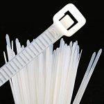 GWHOLE Lot de 500 Attaches de Cable Autobloquant Liens Nylon Zip Cable Ties (100 / 150 / 180 / 200 / 300 mm), Blanc de la marque GWHOLE image 3 produit