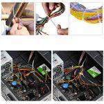 GWHOLE Lot de 500 Attaches de Cable Autobloquant Liens Nylon Zip Cable Ties (100 / 150 / 180 / 200 / 300 mm), Blanc de la marque GWHOLE image 4 produit