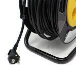 Halotec H05VV-F.3G Enrouleur rallonge électrique avec protection thermique et double isolation en PVC 4prises 50m de la marque HALOTEC image 2 produit