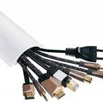 hama Protège-câbles semi circulaire 1 m Blanc de la marque Hama image 2 produit