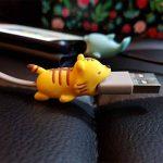 Haoch câble Cord Protector, Cute Dreams câble Bites différents Animaux Formes câble Accessoire pour téléphone Câbles Protège, Prévient la Casse, 5pcs de la marque HaoCH image 2 produit