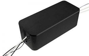 Hestec 23411 Boîtier Cache Câble Plastique Noir 41.5 x 16.5 x 13.5 cm Taille XL de la marque AIC - International image 0 produit