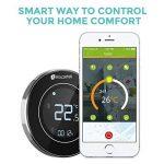 Houzetek Thermostat d'Ambiance Digital Numérique Programmable, Thermostat pour Chaudière, Rétro-éclairage, Programmable chaque semaine, Communication Modbus, Wifi, Capteur interne et capteur externe de plancher de la marque Houzetek image 1 produit