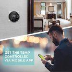 Houzetek Thermostat d'Ambiance Digital Numérique Programmable, Thermostat pour Chaudière, Rétro-éclairage, Programmable chaque semaine, Communication Modbus, Wifi, Capteur interne et capteur externe de plancher de la marque Houzetek image 2 produit