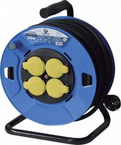 I-Watts Pro EE4D07-1525 Enrouleur 4 prises 25 m 3G 1,5 mm de la marque I-WATTS PRO image 0 produit