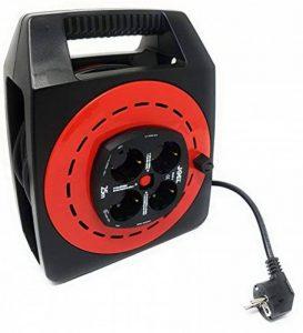 Joel YK45 S 25m (Meter) 4 prises de câble d'extension de bobine électrique robuste de la marque Jo-el image 0 produit
