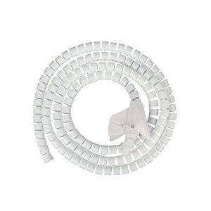 JZK® Flexible Spiral Binding Wrapping Band Câbles Wires Wrap Organizer de la marque JZK image 0 produit