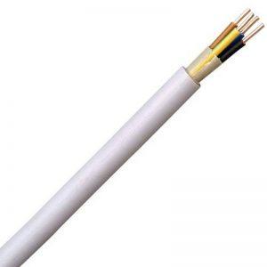 Kopp 150910844 Câble gainé NYM-J 4 fils Gris 5 x 1,5 mm² 10 m de la marque Kopp image 0 produit