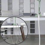 Label-the-cable tube cache-câbles, gaine protège-câbles, guide-câbles: gaine textile tressée, auto-refermable, découpable, très flexible et robuste / PRO CABLE TUBE, 1 unité, 25m, blanc, PRO 5120 de la marque Label-the-Cable image 1 produit