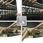 """Linéaire PCJ6aSFZA3 Câble réseau Ethernet RJ45 snagless Mâle / Mâle Cat.6a double blindage S/FTP LS0H POE+ 10Gbps ISO/IEC 11801 pour baie serveur 19"""", coffrets 10"""" et 19"""", panneau de brassage, routeur, switch, NAS, téléphone IP, caméra IP, box ADSL etc. 0 image 3 produit"""