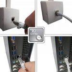 """Linéaire PCJ6aSFZA3 Câble réseau Ethernet RJ45 snagless Mâle / Mâle Cat.6a double blindage S/FTP LS0H POE+ 10Gbps ISO/IEC 11801 pour baie serveur 19"""", coffrets 10"""" et 19"""", panneau de brassage, routeur, switch, NAS, téléphone IP, caméra IP, box ADSL etc. 0 image 4 produit"""