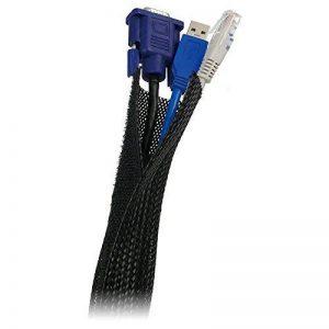 LogiLink FlexWrap Pochette de câble 1,8 m Noir de la marque Logilink image 0 produit