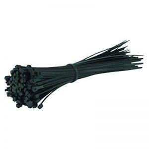 Lot de 100attaches de câbles noires–200mm x 4,8mm Tie Wraps–Haute Qualité solide en nylon Zip Ties par Gocableties de la marque Gocableties image 0 produit