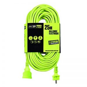 Masterplug EXF25162G1-PX Rallonge électrique, 220 V, Vert Fluo, 25 m de la marque Masterplug image 0 produit