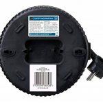 Masterplug sct0510/4BL Enrouleur 5m 4prises 10A Petit Cassette avec découpe thermique et bouton reset de la marque Masterplug image 3 produit