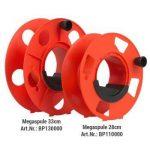 Megaspule - 28x12cm avec poignée coulissante, enrouleur de câble, enrouleur de tuyau, enrouleur de câble avec manivelle. de la marque IMC Networks image 4 produit