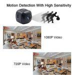 Mini Caméra Espion, UYIKOO HD 1080P Caméra Cachée Espion Portable Mini Caméra avec Détection de Mouvement pour la Sécurité à Domicile de la marque UYIKOO image 2 produit