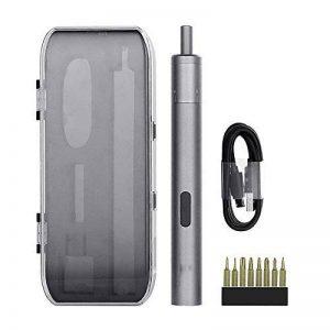 Mini Tournevis Électrique De Précision Compact Sans Fil Rechargeable Smart Gyro Motion Control USB Chargeur 8 Insert Drill Kit de la marque YMXLJJ image 0 produit