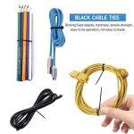 Mture 500 Pcs Cable Attache enveloppe Nylon fixation Noir 2.5 * 100/2.8 * 150/2.5 * 160/3.6 * 200/3.6 * 300 mm de la marque Mture image 4 produit